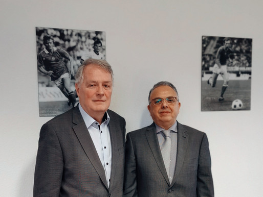 Meeting with the vice president of the Hungarian Football Federation