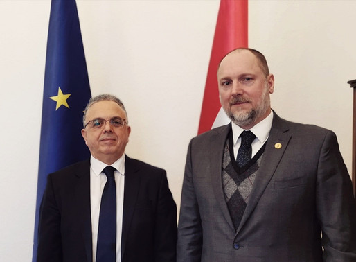 Meeting with the Head of the Protocol Department at the MFAT of Hungary