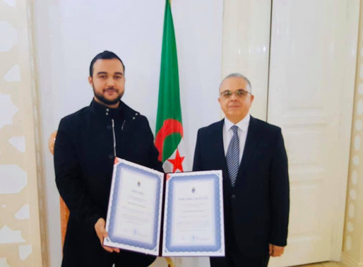 Meeting with Algerian students