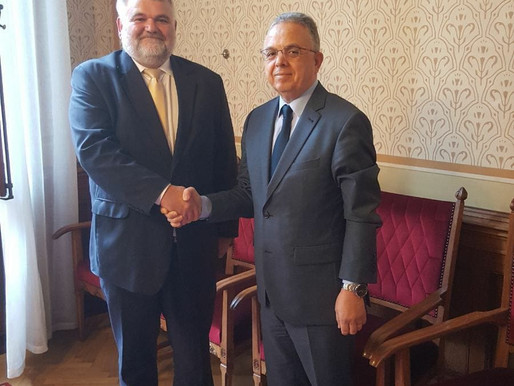 Meeting with the President of the Algerian-Hungarian Friendship Group in the Parliament