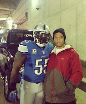 Stephen Tulloch and Cooper