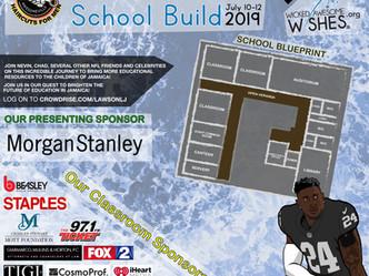 Jamaica School Build - July 10th - 12th, 2019
