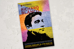 Richard Blanco event poster