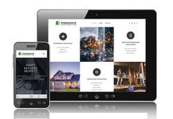 Pinegrove Construction Website
