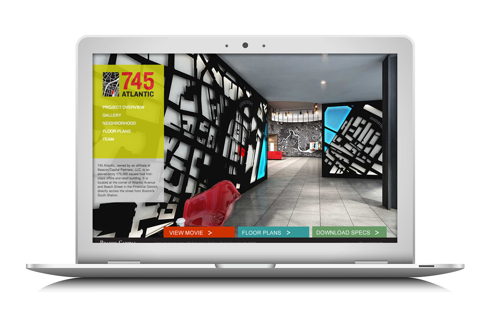 745 Atlantic Marketing Website