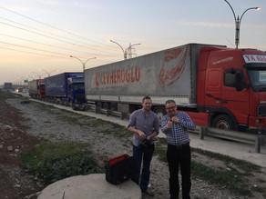Three loads of medical drugs, equipment and humanitarian help to Kurdistan