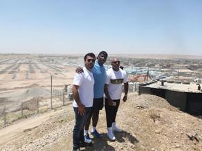 Celebrities Visit Kawrgosk Refugee Camp