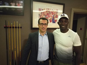 Dwight Yorke and BHHF Football Initiative