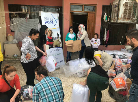Easter Celebration and Distribution for Families Without Husbands & Fathers