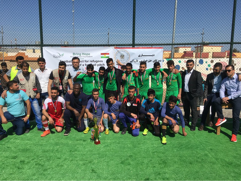 First Football Pitch Inaugurated