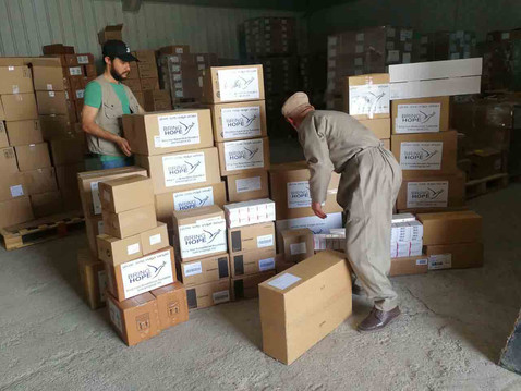 Ble Hospital Receives Medicine Donation