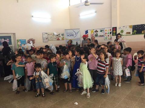 Kindergarten Graduation Party Distribution