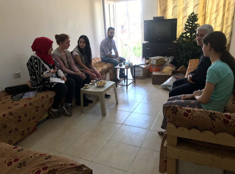 Helping Yezidi Families with Necessities