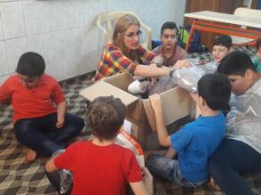 Toys bring smiles to children in Kirkuk