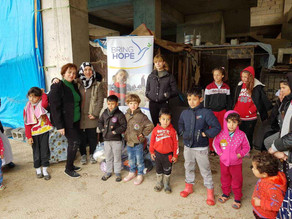 Clothes Distribution for Yezidi Families in Erbil