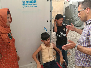 12-year-old Samir receives life changing treatment in India