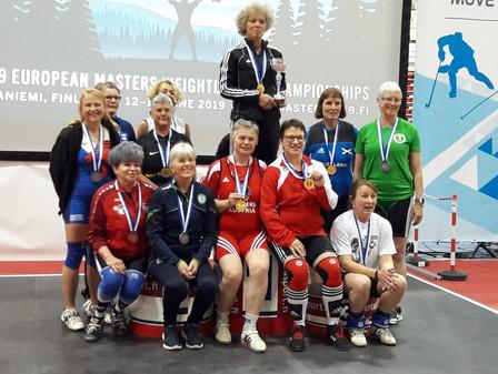 EM Masters Rovaniemi 2019 Menda, Bohusch