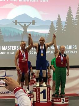EM Masters Rovaniemi 2019 Anglberger