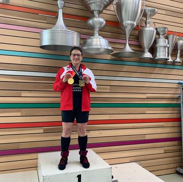 Gold für Karin Bohusch bei der EM der Masters in Alkmaar NL