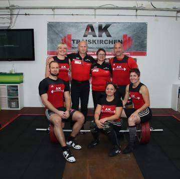 ASKÖ AK Traiskirchen weiht Halle mit Wettkampf ein