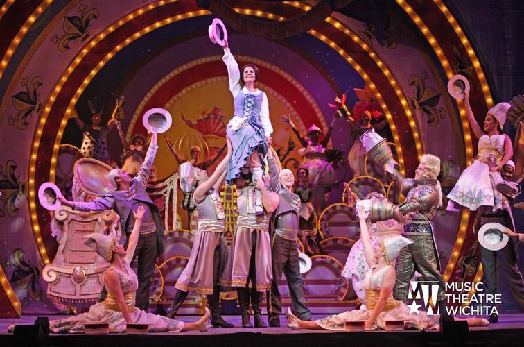 Beauty & the Beast, Music Theatre Wichita, 2016, Dir: Wayne Bryan