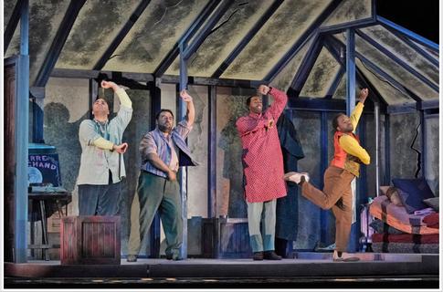 La Boheme, The Santa Fe Opera, 2019, Dir: Mary Birnbaum