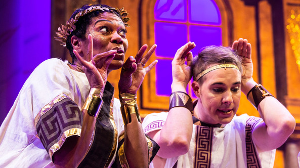 A Funny Thing Happened on the Way to the Forum, Gulfshore Playhouse, 2018, Dir: Darren Katz