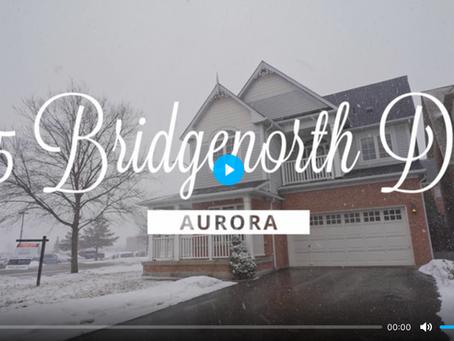 SOLD- 25 Bridgenorth Drive Aurora