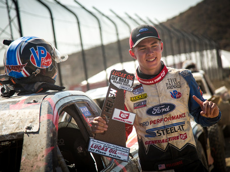 Christopher Polvoorde and His Ford Ranger Pro Lite End the LOORRS Season on a High Note