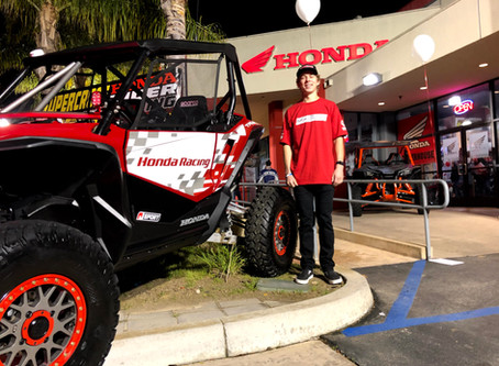 Christopher Polvoorde is Racing UTV King of the Hammers on Sunday 02/02/20