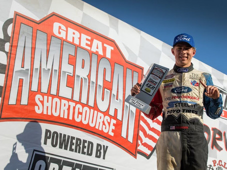 Christopher Polvoorde Wins Big at Great American Shortcourse Series with 1st & 2nd Place Finishes!!