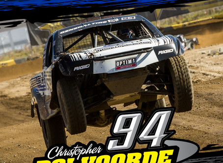 Christopher Polvoorde's STEEL-IT Pro Lite Runs Strong At Glen Helen With 2nd Place Finish