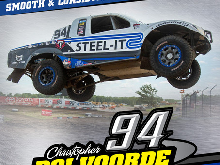 Smooth and Consistent Racing Awards Christopher Polvoorde A Pair of Podium Finishes