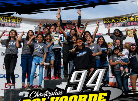 Christopher Polvoorde Captures 2nd Place Podium and Gains New Fans In Mexico