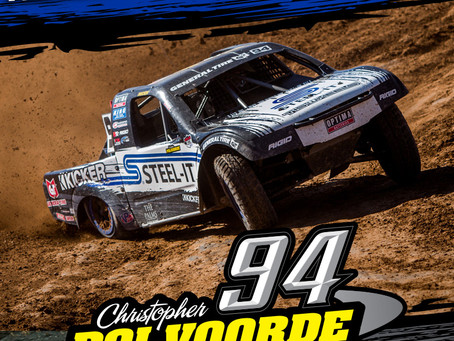 Polvoorde's STEEL-IT Pro Lite Leads the Pack During Round 2 In The Lucas Oil Off Road Racing Series