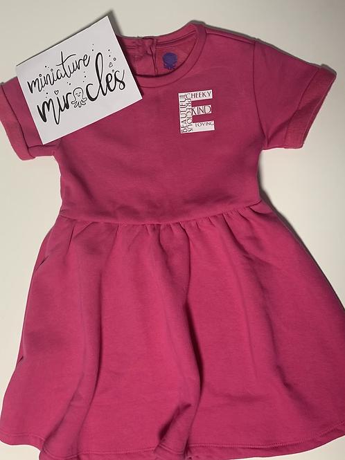 Pink personalised dress