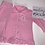 Thumbnail: Baby pink frilled pjs