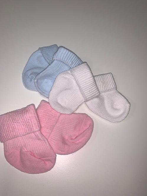 Premature baby socks