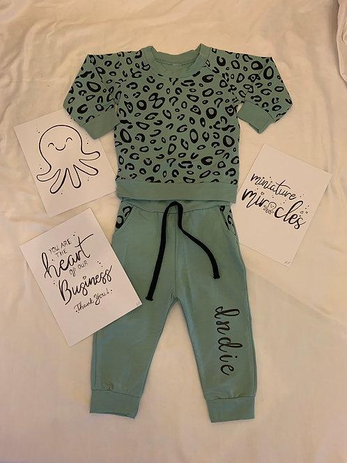 Personalised jog suit