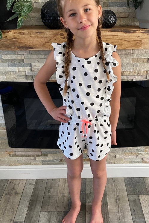 Dotty play suit