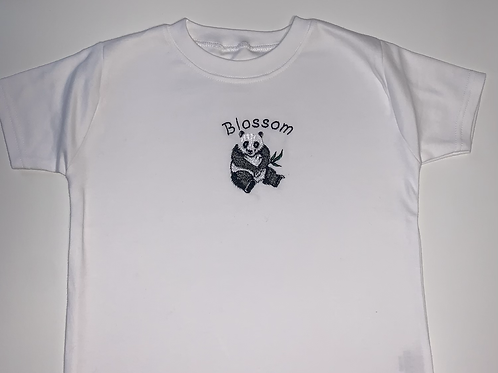 Embroidered Panda top