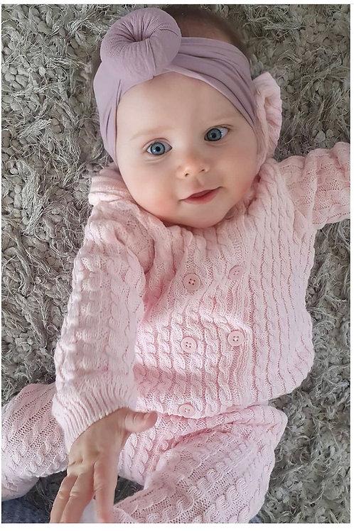 Baby knitt loungset