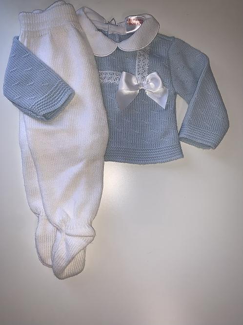 Baby blue Spanish set