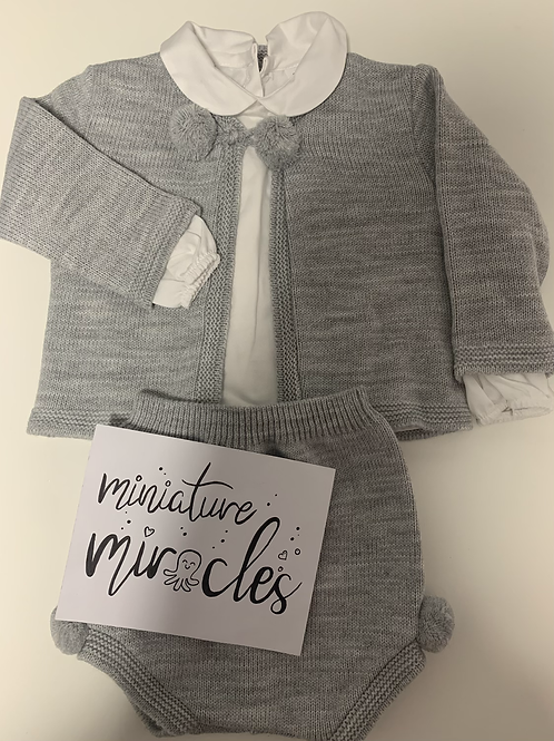 Grey two piece