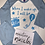 Thumbnail: Blue raglan birthday Pj's