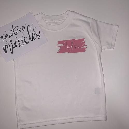 Scratch effect T-shirt