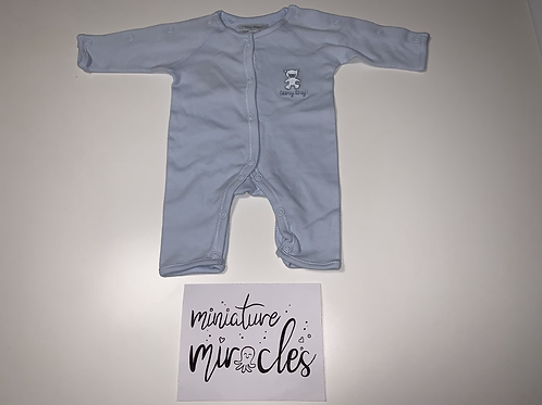Premature baby grows
