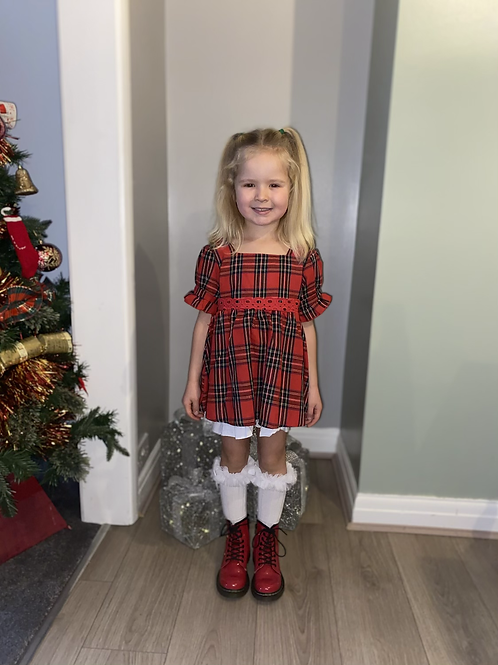 Short Tartan dress