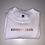 Thumbnail: Embroidered rainbow text tee
