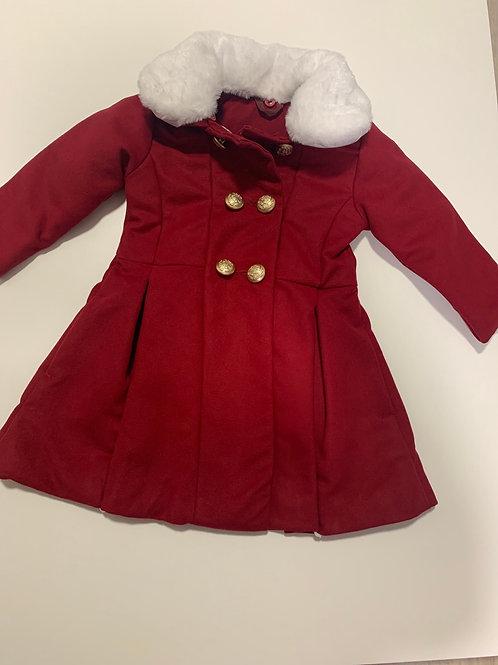 Luxury red coat